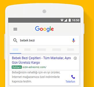 Google Arama'da Reklam Vermek